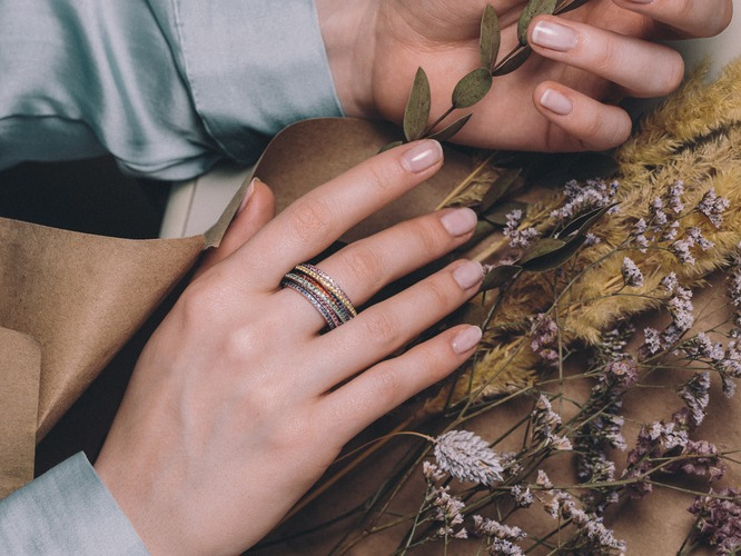 Модные кольца 2020: какие они?