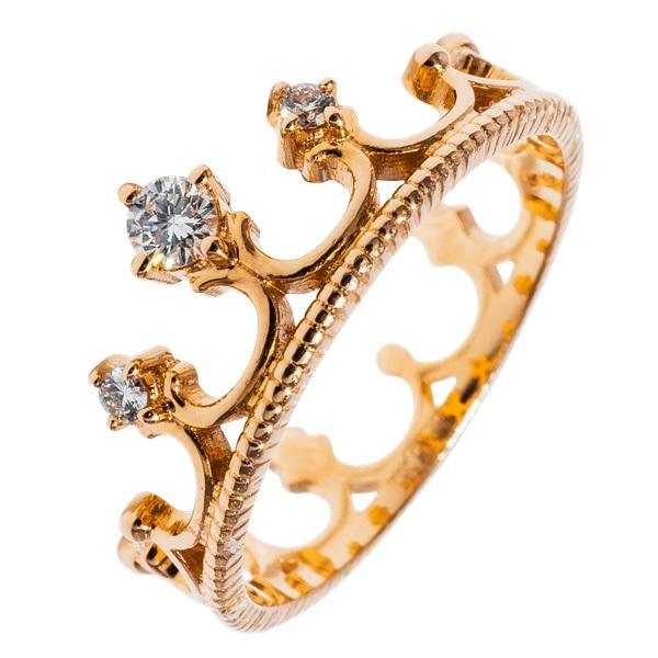 Кольца «короны»: для современных принцесс и королев